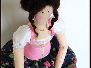 Делаем волосы для куклы из шерсти для валяния. Видео.. Ярмарка Мастеров - ручная работа, handmade.