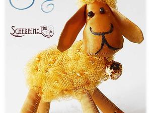 Шьем игрушку «Овечка» для новогодней ёлки | Ярмарка Мастеров - ручная работа, handmade