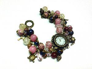Мастер-класс «Часы на браслете из натуральных камней» - теперь со скидкой 20%!!!   Ярмарка Мастеров - ручная работа, handmade