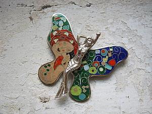 Красивая летняя коллекция с работой из горячей эмали | Ярмарка Мастеров - ручная работа, handmade