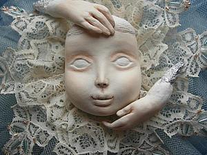 МК по созданию личика для будущей куклы. СПЕЦ.ЦЕНА!!! Всего два места! | Ярмарка Мастеров - ручная работа, handmade
