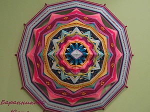 Мастер-класс по плетению индейских мандал | Ярмарка Мастеров - ручная работа, handmade
