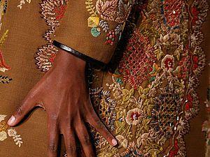 Вышивка с подиумов: 50 прекрасных работ известных дизайнеров. Ярмарка Мастеров - ручная работа, handmade.