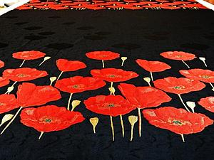 Купоны. Шикарные неповторимые итальянские ткани с вышивкой | Ярмарка Мастеров - ручная работа, handmade