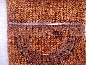 Определяем плотность вязания. Ярмарка Мастеров - ручная работа, handmade.