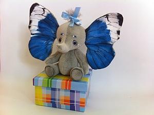 Сказка о крылатом слоненке | Ярмарка Мастеров - ручная работа, handmade