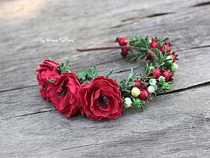 Фантазийный цветок из фоамирана своими руками. Ярмарка Мастеров - ручная работа, handmade.