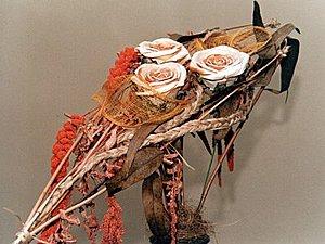 Как правильно сушить цветы для цветочных композиций | Ярмарка Мастеров - ручная работа, handmade