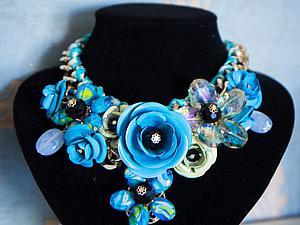 2-я ЧАСТЬ конкурса от 2-х мастеров Ожерелье и юбка в подарок   Ярмарка Мастеров - ручная работа, handmade