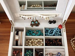 Уход за бижутерией и ее хранение (красивые фото идеи) | Ярмарка Мастеров - ручная работа, handmade