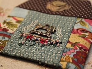 Мастер-класс по изготовлению текстильного сувенира