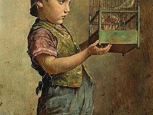 Дети в творчестве австрийского художника Edmund Adler | Ярмарка Мастеров - ручная работа, handmade