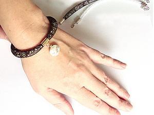 Создаем браслет-сетку с наполнителем из кристаллов. Ярмарка Мастеров - ручная работа, handmade.