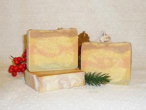 Новогоднее мыло | Ярмарка Мастеров - ручная работа, handmade