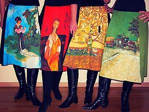 Искусство платья: картины и одежда на подиумах мира. Ярмарка Мастеров - ручная работа, handmade.