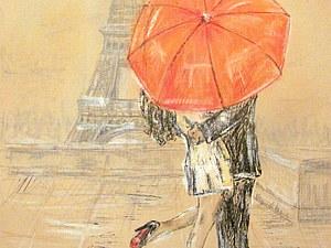 Миниатюрные картины Парижа!!!   Ярмарка Мастеров - ручная работа, handmade