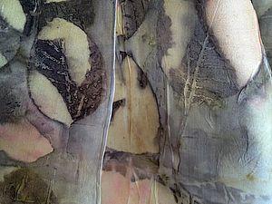 Контактное крашение, aka Экопринт   Ярмарка Мастеров - ручная работа, handmade