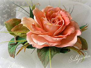 Анонс МК - Роза из фоамирана | Ярмарка Мастеров - ручная работа, handmade