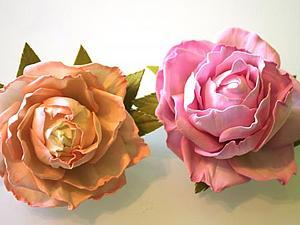 Розы из фоамирана   Ярмарка Мастеров - ручная работа, handmade