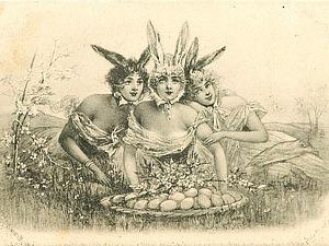 Старинные пасхальные открытки: 46 необычных изображений | Ярмарка Мастеров - ручная работа, handmade