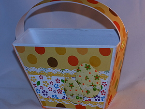 Мастер класс Корзиночка для пасхальных яиц. Ярмарка Мастеров - ручная работа, handmade.