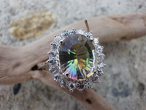 Аукцион! Перстень с мистиком! Закончен! | Ярмарка Мастеров - ручная работа, handmade