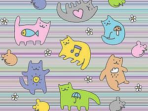 Клюквенные котики молодцы:) | Ярмарка Мастеров - ручная работа, handmade