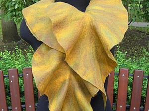 Мастер-класс по шарфам с рюшами (