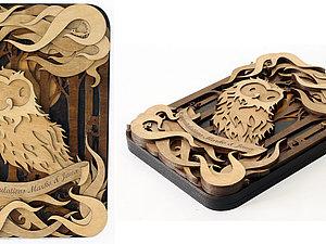Работы по дереву британского художника Мартина Томски   Ярмарка Мастеров - ручная работа, handmade