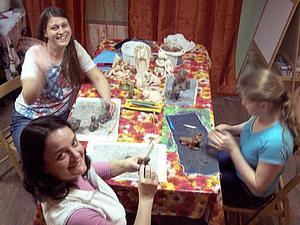 Лепим Для Души! Работы учеников, март 2015, часть 2 | Ярмарка Мастеров - ручная работа, handmade
