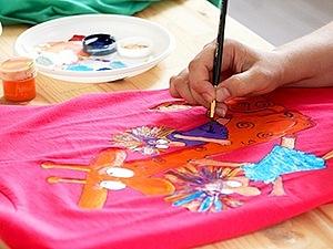 Роспись по ткани | Ярмарка Мастеров - ручная работа, handmade