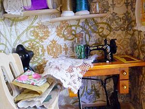 Аукцион на  миниатюру-Комнатка рукодельницы! | Ярмарка Мастеров - ручная работа, handmade