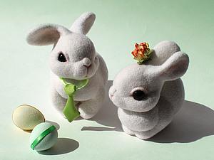 Солнечные пасхальные кролики | Ярмарка Мастеров - ручная работа, handmade