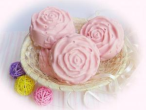 Зреет мыло в бохо-стиле Бархатные розы. | Ярмарка Мастеров - ручная работа, handmade