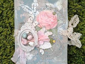 Шебби блокнот | Ярмарка Мастеров - ручная работа, handmade
