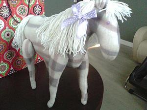 Белогривая Лошадка Арина. | Ярмарка Мастеров - ручная работа, handmade