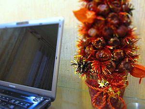 Делаем ёлку из каштанов. Ярмарка Мастеров - ручная работа, handmade.