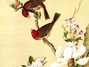 История китайской живописи. Стиль гунби. Ярмарка Мастеров - ручная работа, handmade.