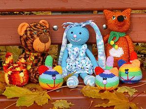 Яркая осень, яркие игрушки!!! | Ярмарка Мастеров - ручная работа, handmade