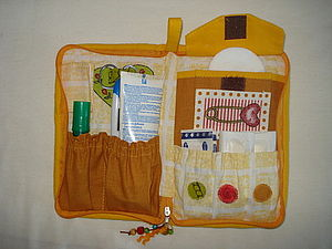 Аптечка для прогулок с детьми | Ярмарка Мастеров - ручная работа, handmade