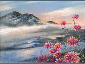 фото рисунки пастелью