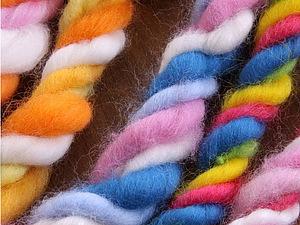 Дизайнерские нити для декорирования войлочных проектов. Ярмарка Мастеров - ручная работа, handmade.