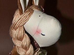 Мастер-класс по текстильной кукле, Лошади, Овечке, Тильде | Ярмарка Мастеров - ручная работа, handmade