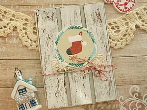 Новые новогодние открыточки уже в магазине ) | Ярмарка Мастеров - ручная работа, handmade
