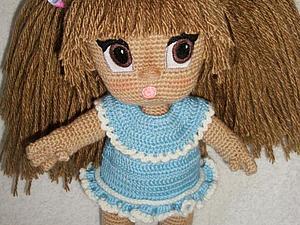 Пышная прическа для куколки. Мастер-класс | Ярмарка Мастеров - ручная работа, handmade