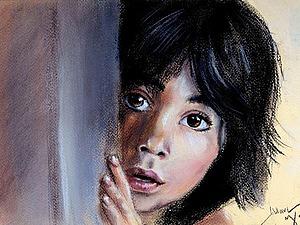 Рисуем пастелью Маугли из фильма Книга джунглей. Speed painting. Ярмарка Мастеров - ручная работа, handmade.