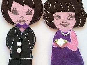 Фетровые куколки из советского детства. Ярмарка Мастеров - ручная работа, handmade.