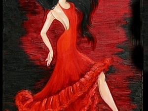 Фламенко в работах мастеров на Ям | Ярмарка Мастеров - ручная работа, handmade