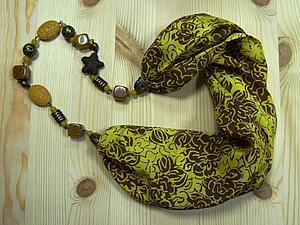 Новый МК по сборке украшений - колье-шарф или бусы-трансформер! | Ярмарка Мастеров - ручная работа, handmade