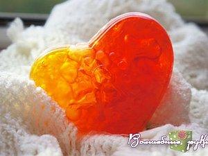 Воздушное сердце: делаем необычное мыло. Ярмарка Мастеров - ручная работа, handmade.